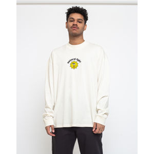 Lazy Oaf Natural Light Long Sleeve T-shirt Off-White XL