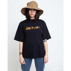 Lazy Oaf Go Outside Oversized Tee Black L