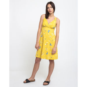 Patagonia W's Amber Dawn Dress Night Pollinators Spaced: Surfboard Yellow M