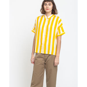 Dedicated Shirt Short Sleeve Nibe Big Stripes Yellow S