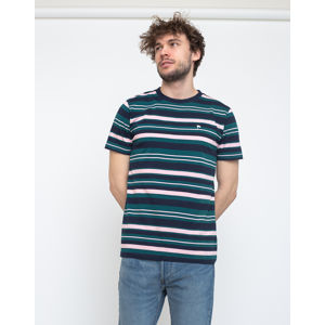 Wemoto Warren Stripe Navy Blue XXL