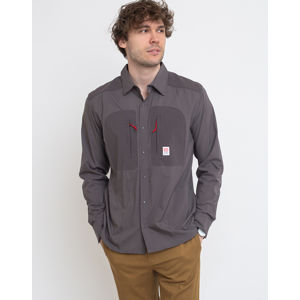 Topo Designs Tech Shirt M Charcoal M