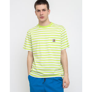 Carhartt WIP S/s Scotty Pocket T-Shirt Scotty Stripe/Lime/White M