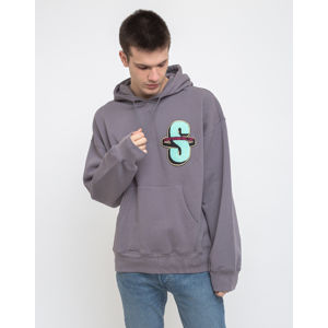 Stüssy S App. Fleece Hood Grey S