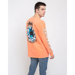 Stüssy One Love Pig. Dyed Ls Tee Neon Orange L