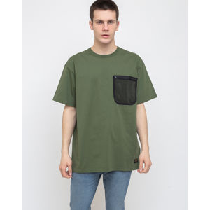 Carhartt WIP S/s Military Mesh Pocket T-S Dollar Green S