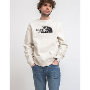 The North Face Drew Peak Crew Vintage White/Tnf Black L