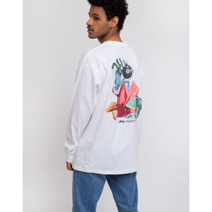 Stüssy In The Clouds LS Tee White L