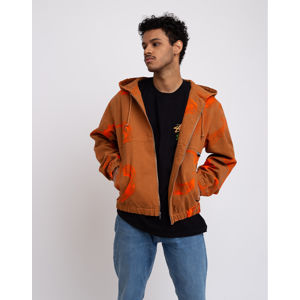 Stüssy Printed Canvas Work Jacket Clay XL