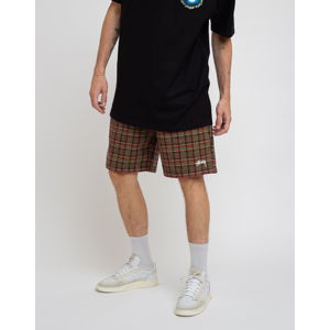Stüssy Plaid Mountain Short Black L