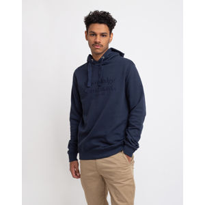 Knowledge Cotton Elm Knowledge Scandinavia Hoodie Sweat 1001 Total Eclipse L