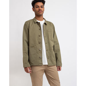 By Garment Makers The Organic Workwear Jacket Oil Green M