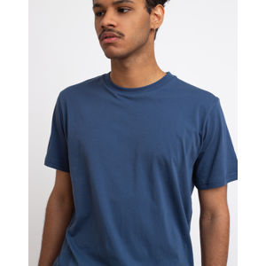 By Garment Makers The Organic Tee Blue XXL