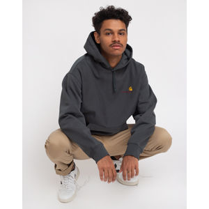 Carhartt WIP Hooded American Script Sweat Dark Teal XL