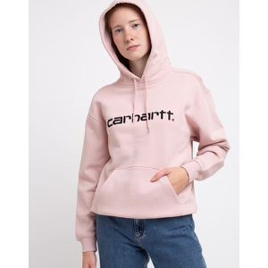 Carhartt WIP W' Hooded Carhartt Sweat Frosted Pink/Black M