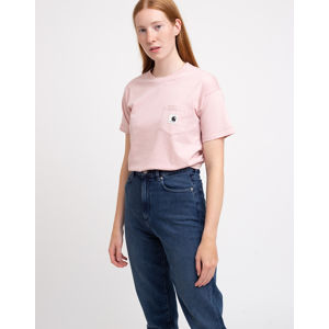 Carhartt WIP W' S/S Carrie Pocket T-Shirt Frosted Pink S