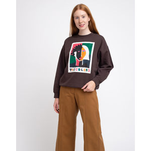 Thinking MU The Colors Sweatshirt Chocolate XS
