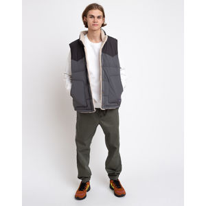 Patagonia M's Reversible Bivy Down Vest Forge Grey S