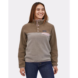 Patagonia W's LW Synch Snap-T P/O Furry Taupe L