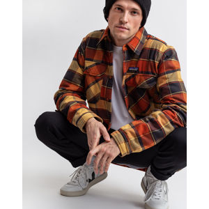 Patagonia M's Insulated Fjord Flannel Jkt Plots: Burnished Red L