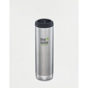 Klean Kanteen TKWide 592 ml (w/Café Cap) Brushed Stainless