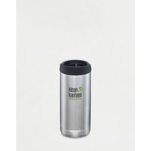 Klean Kanteen TKWide 355 ml (w/Café Cap) Brushed Stainless