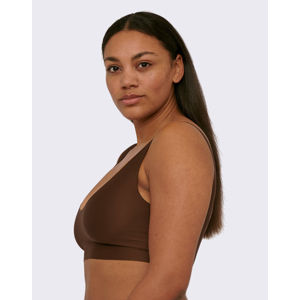 Organic Basics Invisible Bra Walnut S