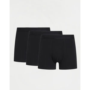 Knowledge Cotton Maple 3 Pack Underwear 1300 Black Jet S