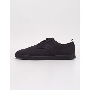 Clae Ellington Suede Black Waxed Suede 44
