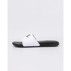 Nike Benassi JDI White/ Black - Black 44