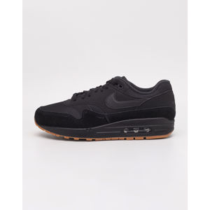 Nike Air Max 1 Black/ Black- Black- Black- Gum Medium Brown 42
