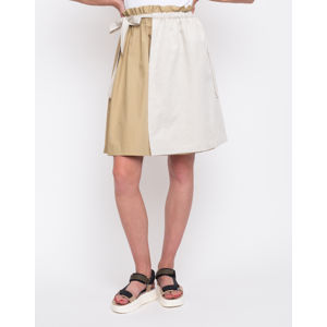 FL Two Layered Skirt Camel/ Sand S/M