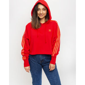 adidas Originals Cropped Hood Scarlet