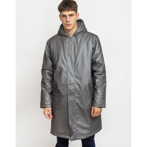 Rains Padded Coat 15 Metallic Charcoal XS/S
