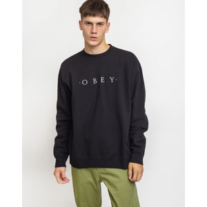Obey Nouvelle II Crew Black S