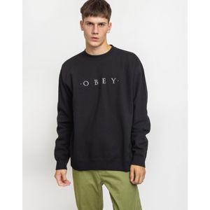 Obey Nouvelle II Crew Black L