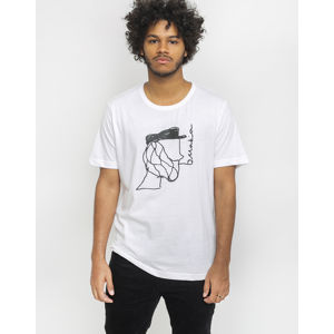 Makia Pipe T-Shirt Recycled White M