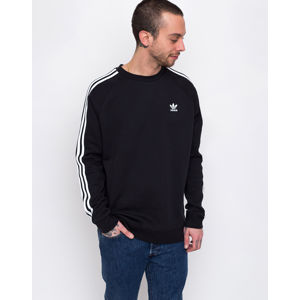 adidas Originals 3-Stripes Crew Black S