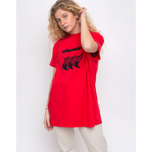 Lazy Oaf Happy Legs Red S/M
