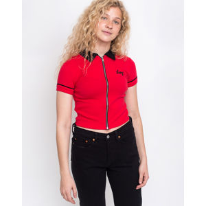 Lazy Oaf Lazy Double Zip Shirt Red M