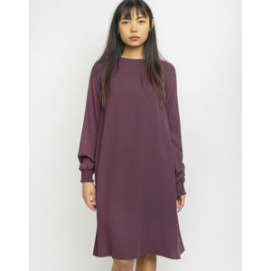 Makia Nominal Long Sleeve Dress Wine S