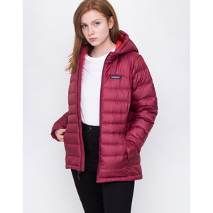 Patagonia Hi-Loft Down Hoody Arrow Red M