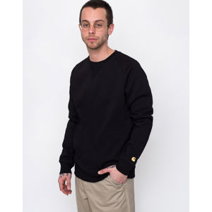 Carhartt WIP Chase Sweat Black / Gold S