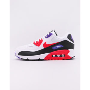 Nike Air Max '90 Essential White/ Red Orbit - Psychic Purple - Black 43