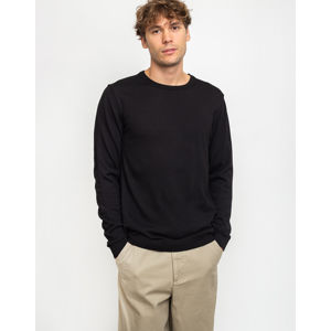 By Garment Makers The Merino Knit 5030 Black Melange S