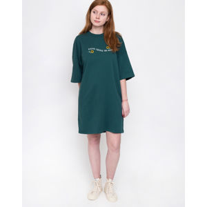Lazy Oaf Excuse The Mess T-Shirt Dress Green L