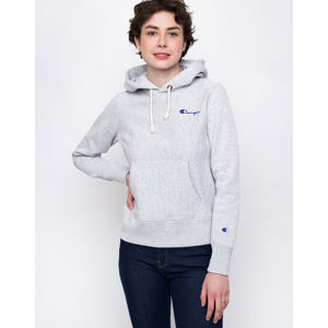 Champion Hooded Sweatshirt Light Grey S