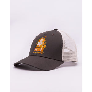 Patagonia Live Simply Home LoPro Trucker Hat Bristle Brown