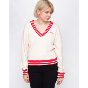 Fila Julianne Varsity Crew Whitecap Gray XS