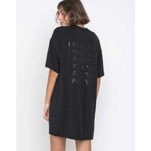 Dr. Denim Joy Dress Black Multiple Feelings L
